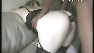 Awesome mature interracial porn action