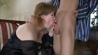 Mature tushy anal porn with a young man