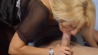 Sensual blonde mature likes hardcore sex