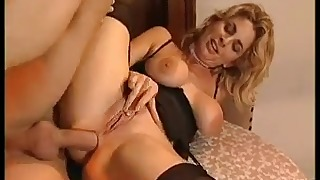 Beautiful mature chick is enjoying anal sex