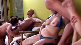 Hairy mature XXX cock sucking session