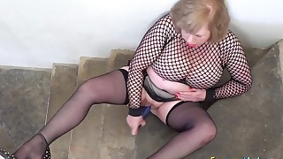 Fat mature xxx action with a nice doll