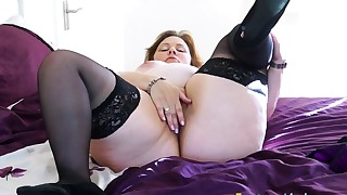 Stunning solo XXX with a passionate BBW