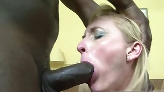 Old mature xxx interracial sex action