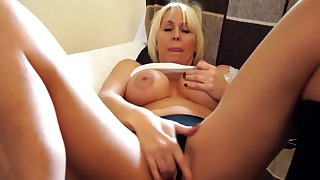 Hot mature HD 1080p solo with busty doll