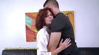 Sensual busty mature HD dick riding action