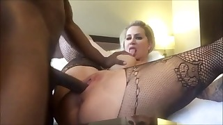 Beautiful blonde mature HD fucked by BBC