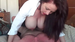 Sexy mature HD XXX action with a busty doll