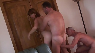 Seduced mature HD hottie fucked twice