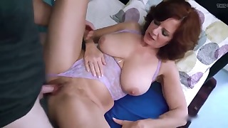 Sweet and hot mature HD porn session